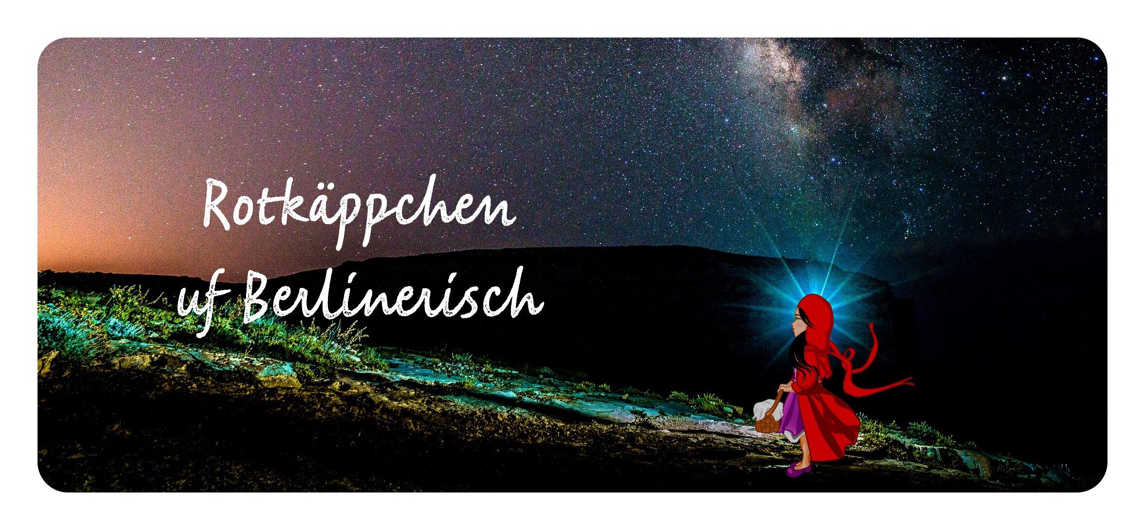 Titelbild - Rotkäppchen auf Berlinerisch