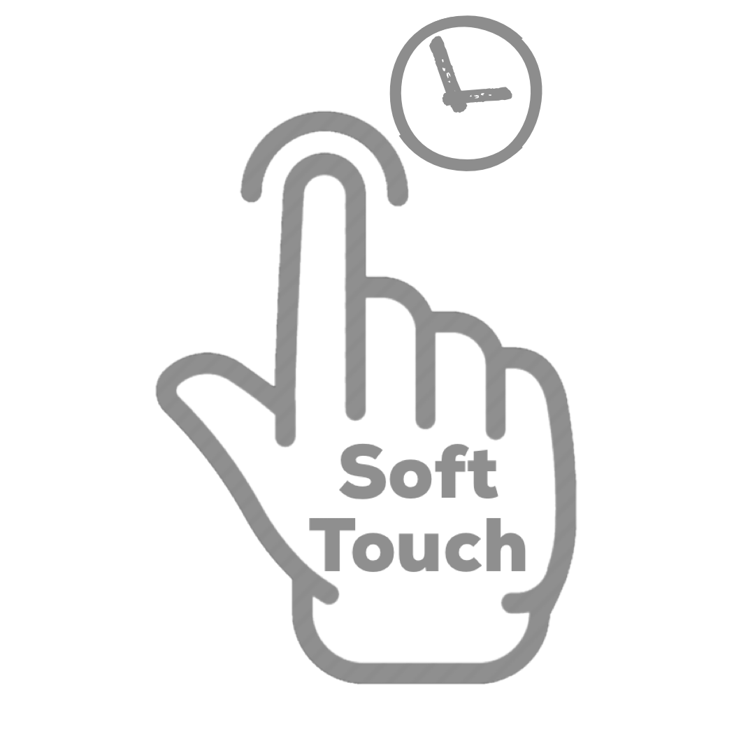 Display Touch - Haptic Touch Soft for a Second