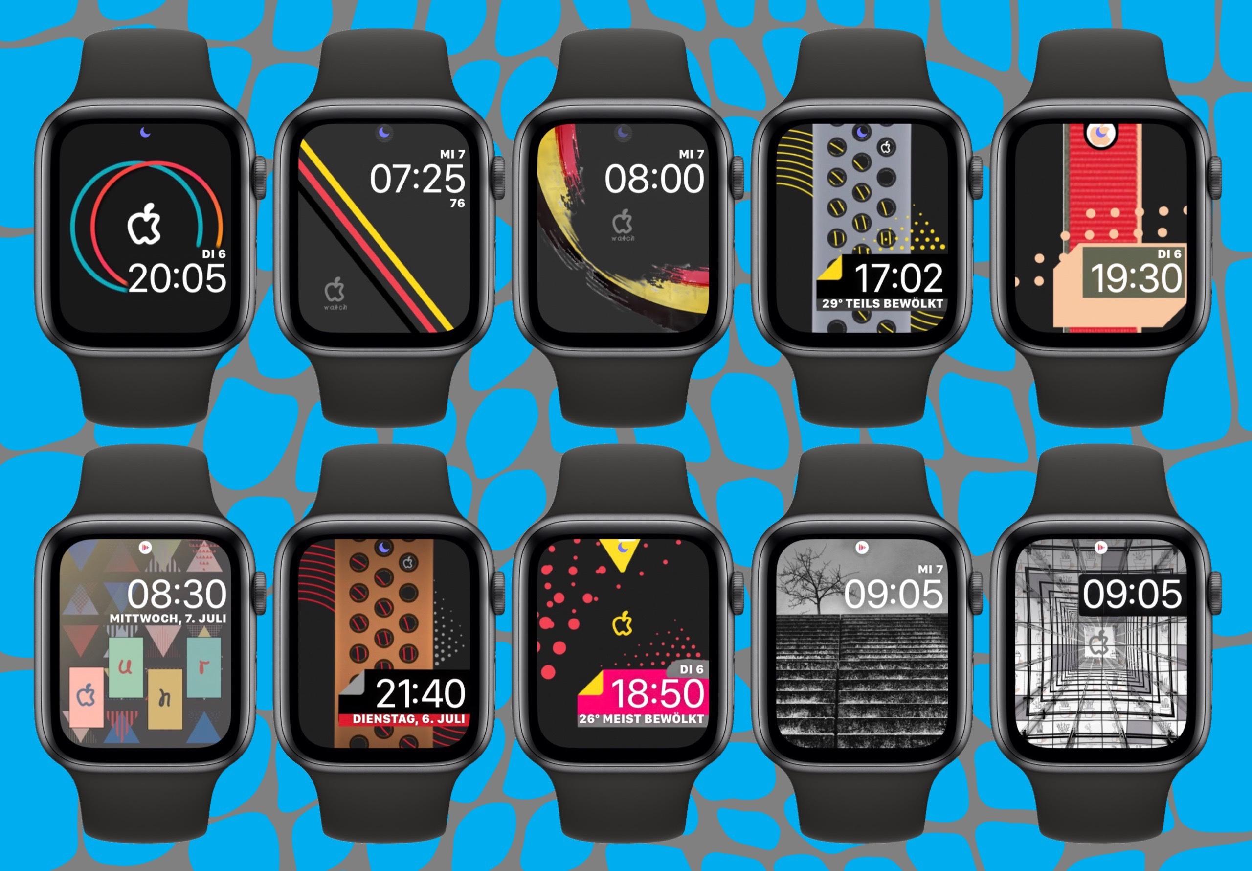 10 Watch Faces für die 44mm AW6